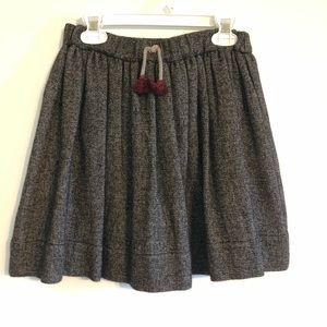 ZARA Girl's Tweed Blend Skirt